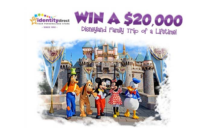 Win A Dream Family Holiday To Disneyland London Canada Or 20 000