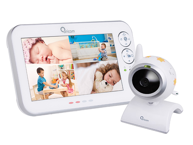 Introducing The Biggest Viewing Video Baby Monitor From