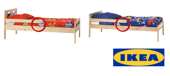 ikea kritter toddler bed recall. Black Bedroom Furniture Sets. Home Design Ideas