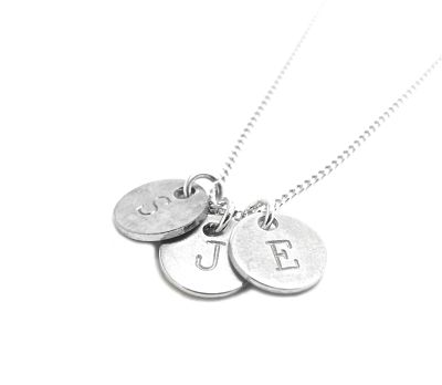 Alphabet Jewellery Pendant - 3 Wind Knots _opt