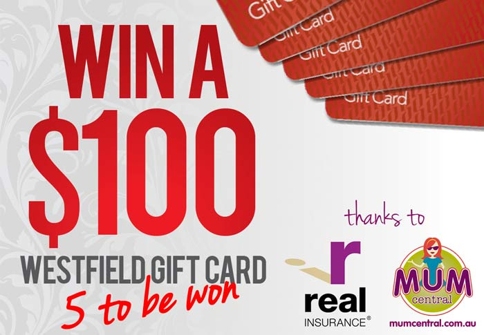 Competition: Win 1 of 5 $100 Westfield Gift Vouchers thanks to ...