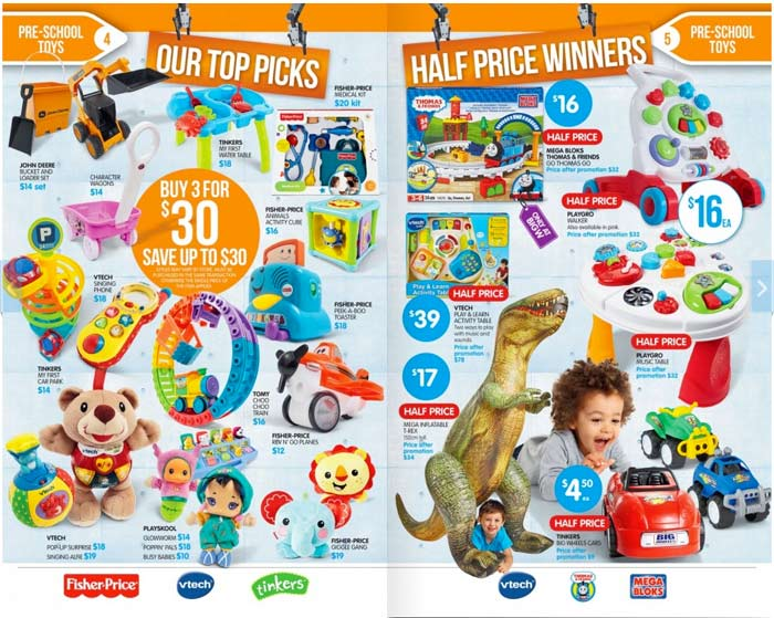 Big W Toy Sale: Total Toy Domination