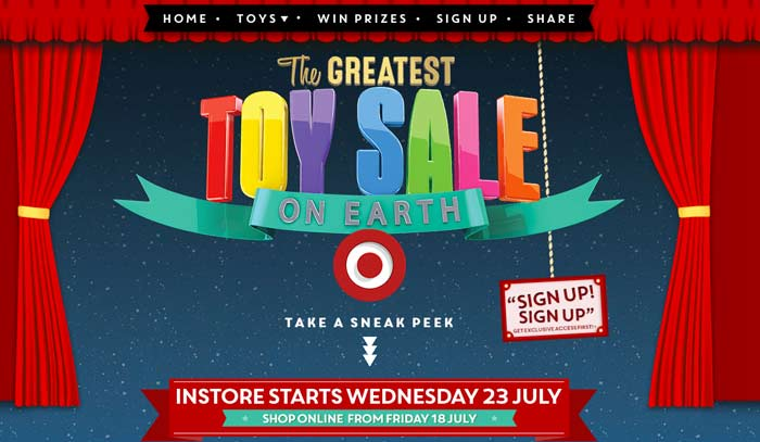Target Toy Guide : Your step by guide to the toy sales mum central