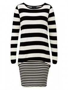 french connection stripe dress