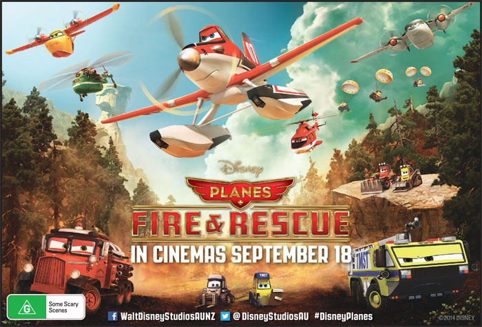 Planes Fire and Rescue Giveaway
