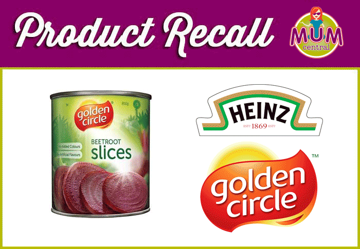 Golden Circle Beetroot Recall