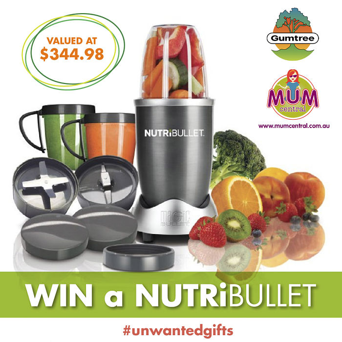 Stuck with Unwanted Christmas Gifts? Guess the Price to Win a Nutribullet - Mum Central