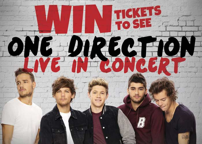 One Direction Ticket Giveaway
