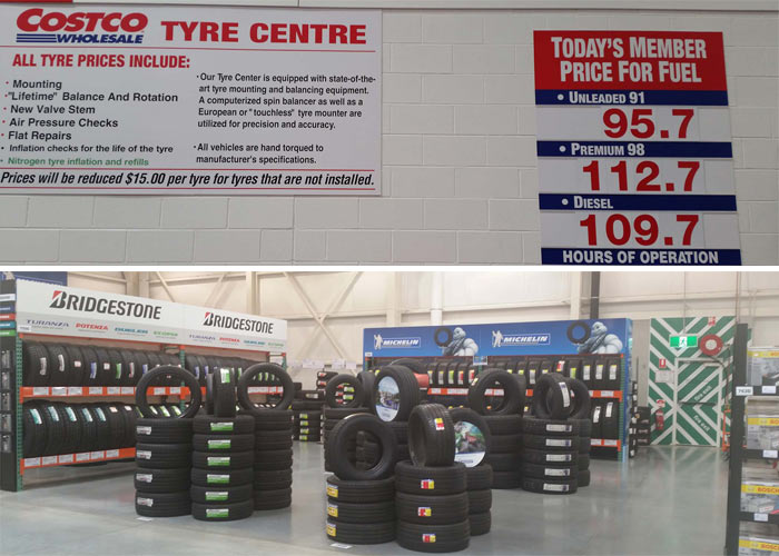 Costco tyres uk : Stocks at 52 week high