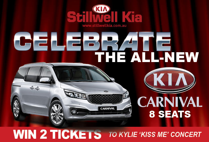 Kia-Carnival-win-Kylie-Tickets