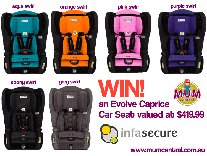 Win-an-Infa-Evolve-Caprice-Car-Seat