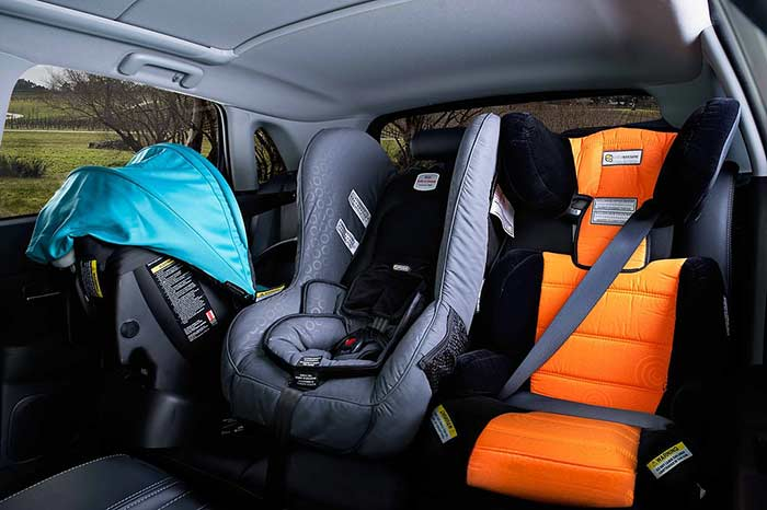 Car Seats, Isofix, And How To Fit 3 Car Seats Across The