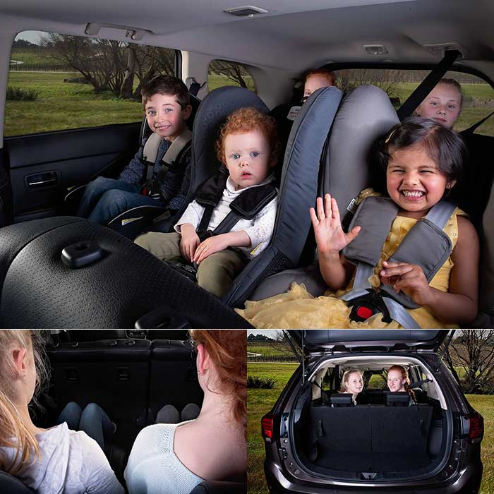 Mitsubishi 7 Seater: Car Seats, Isofix, And How To Fit 3 Car Seats Across The