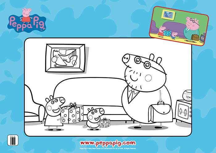 Peppa-Fathers-Day-Colouring-Sheet
