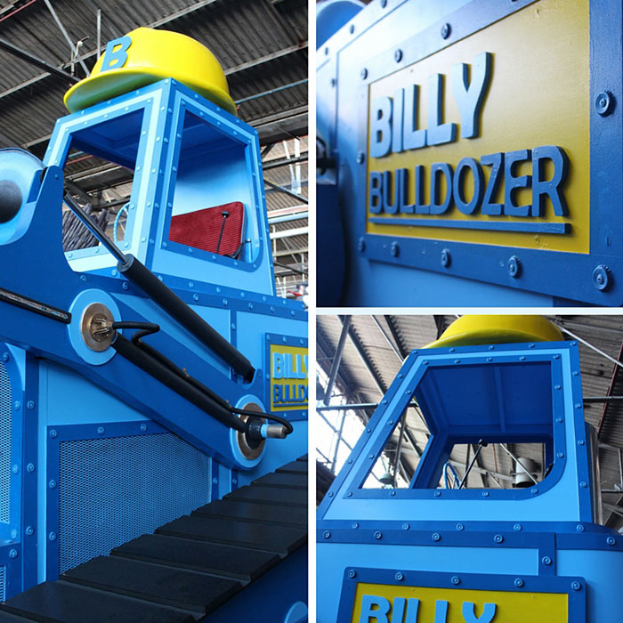 Billy-the-Bulldozer