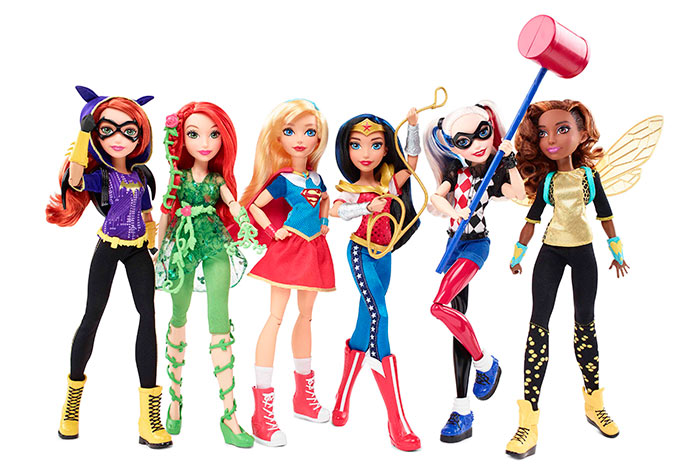 Mattel-Super-Hero-Girl-Dolls