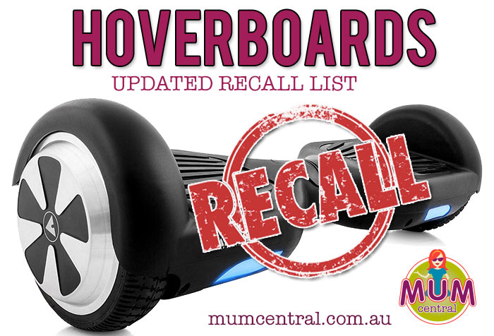 Hoverboard-Recall