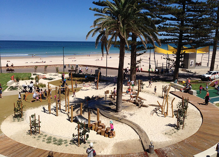 the glenelg foreshore playground hits the mark for kids of. Black Bedroom Furniture Sets. Home Design Ideas