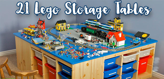 Lego Table The 21 Best Lego Storage Tables