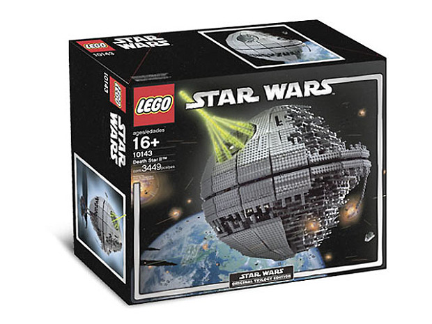 the Death Star II and Imperial Star Destroyer sets from the early '00s can be purchased for close to $1,500.