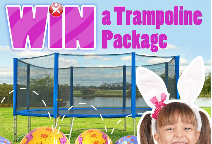 get your hands on this jump star trampoline easter egg hamper mum central. Black Bedroom Furniture Sets. Home Design Ideas