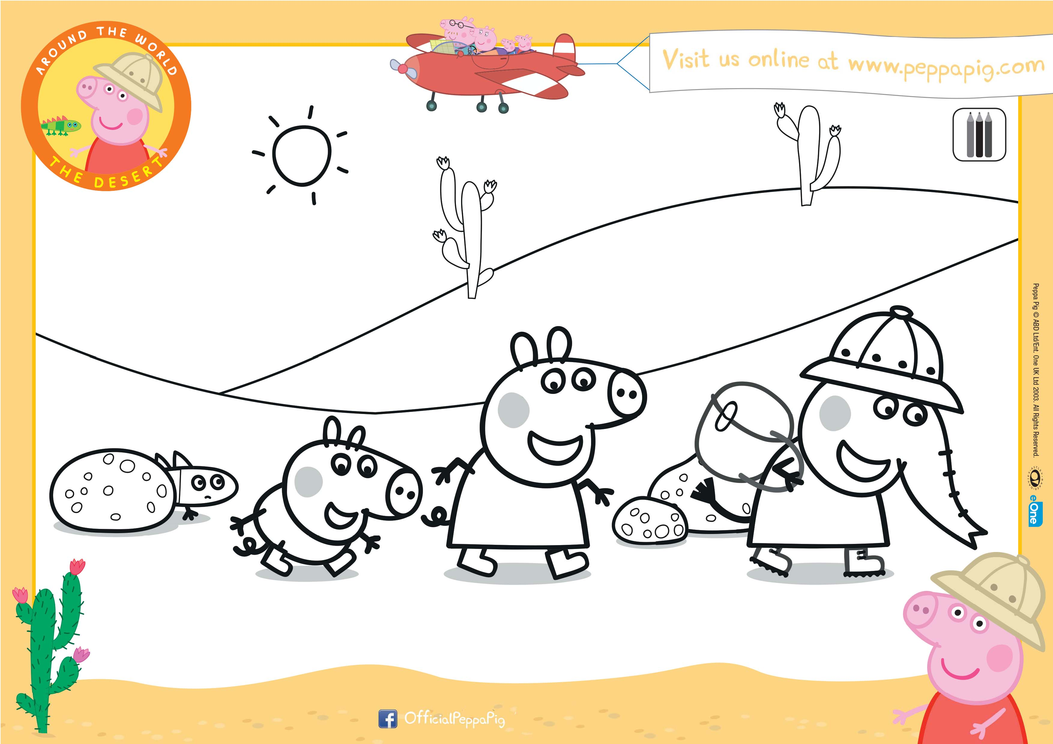 It's just a picture of Wild Peppa Pig Printable