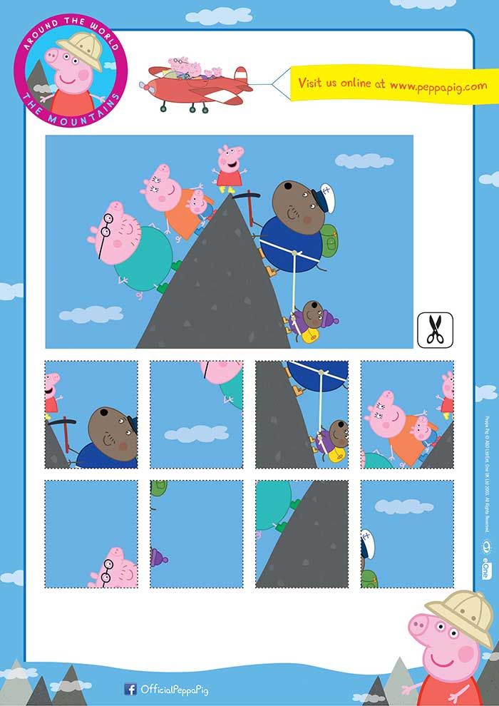 Around the World Peppa-Pig-Downloadable-Activity-Sheet