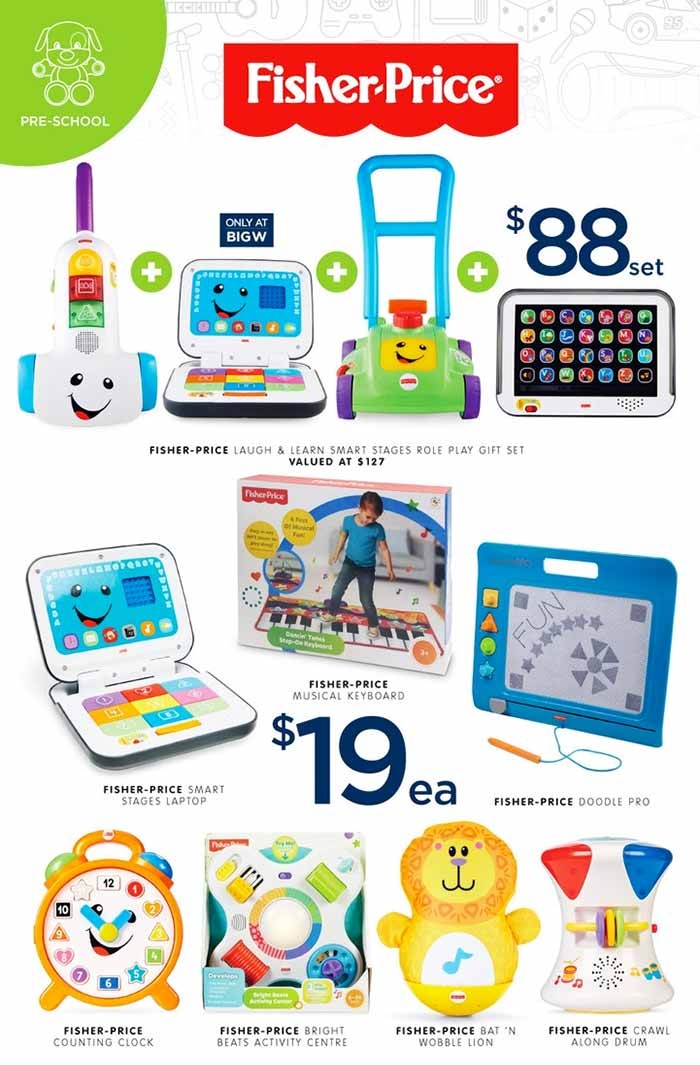 Big-W-Toy-Sale-Fisher-Price-2