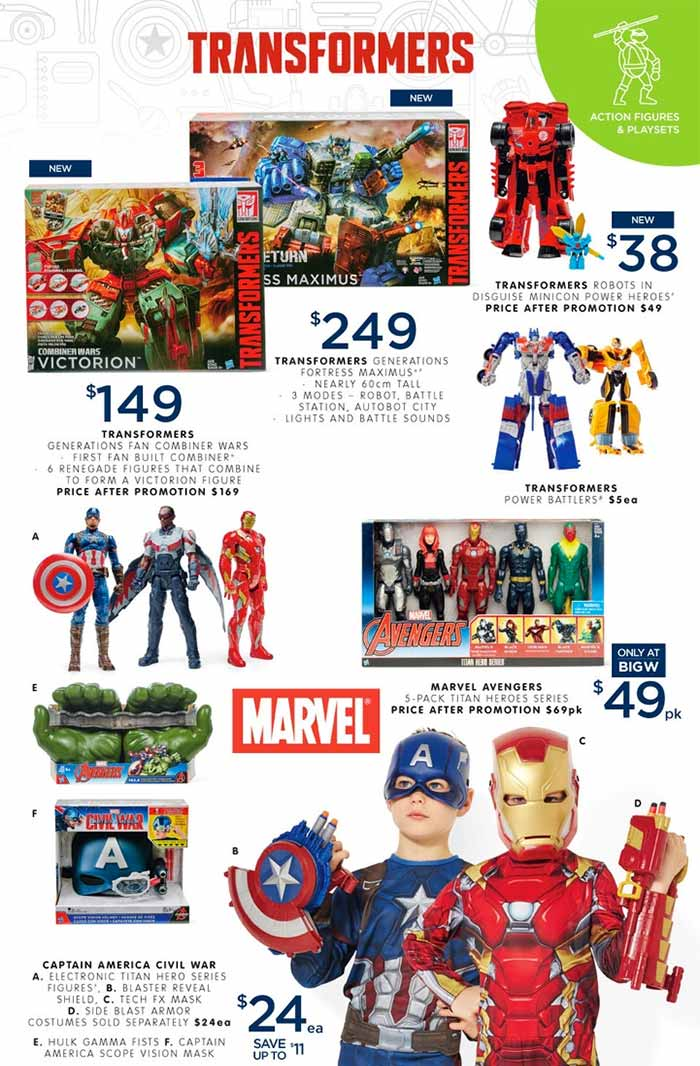 Big-W-Toy-Sale-Marvel