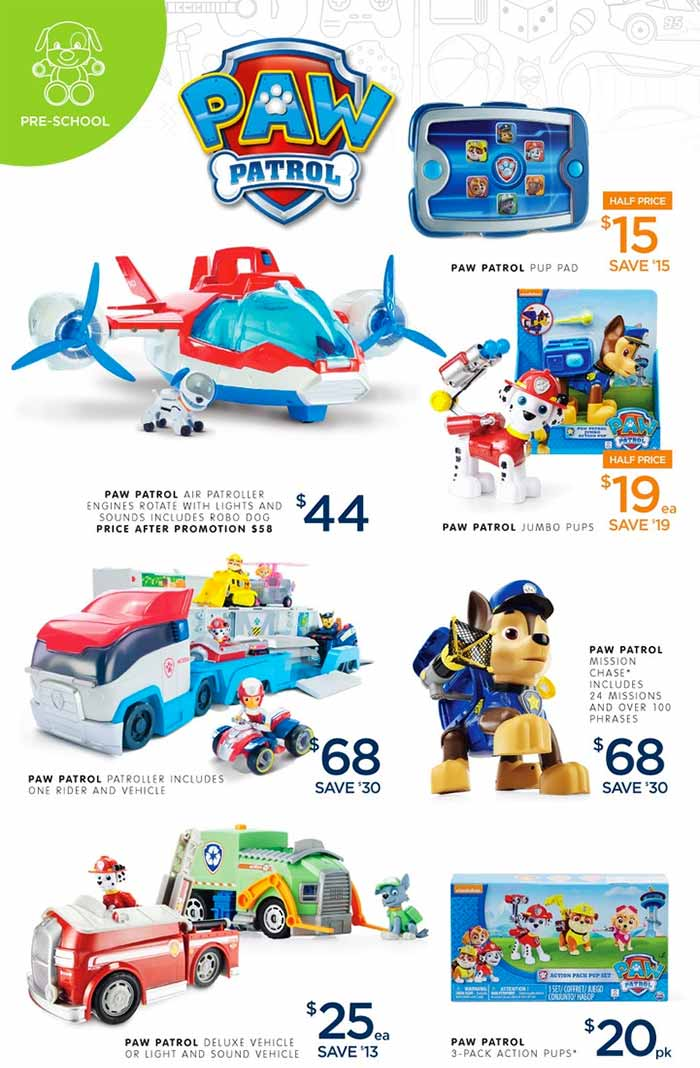 Big-W-Toy-Sale-Paw-Patrol