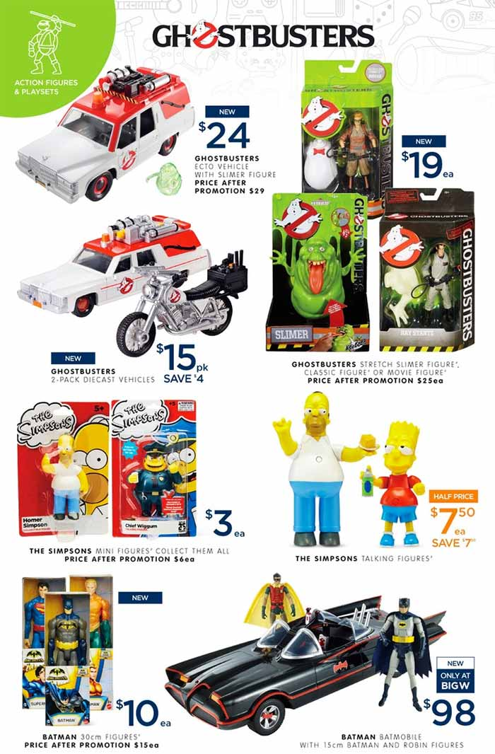 2016 Big W Toy Sale Characters Galore With Paw Patrol