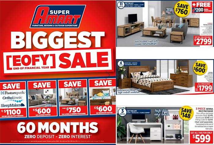 It S Eofy Sale Time At Super Amart And We Ve Got A Giveaway For You