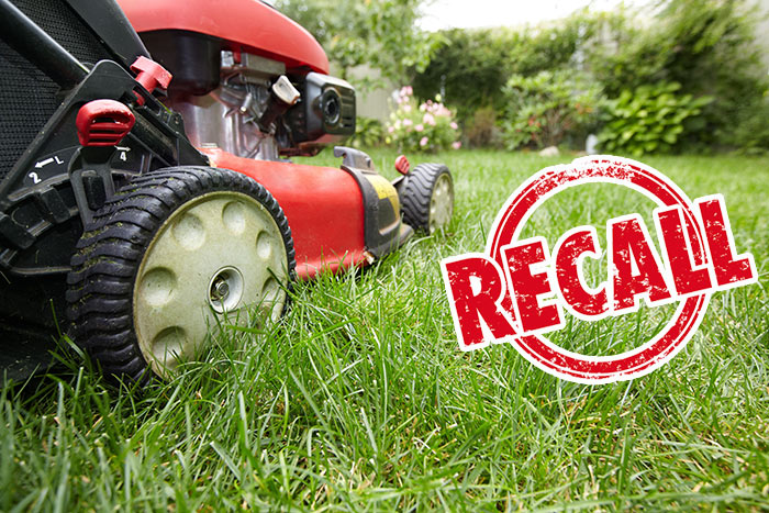 Lawnmower-Recall issued over faulty blades