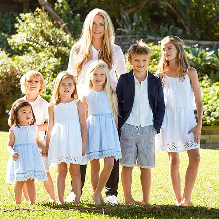 Collette-Dinnigan-ALDI-Kids-Fashion-Summer-Group