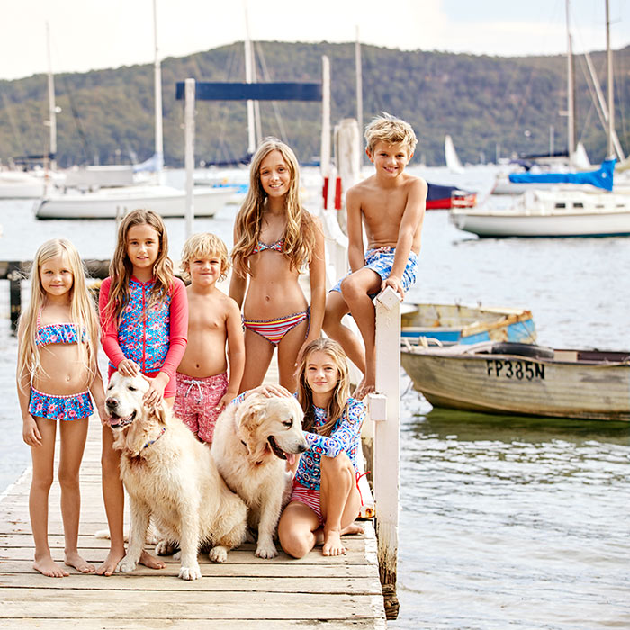 Collette-Dinnigan-ALDI-Kids-Fashion-Swimwear-Group