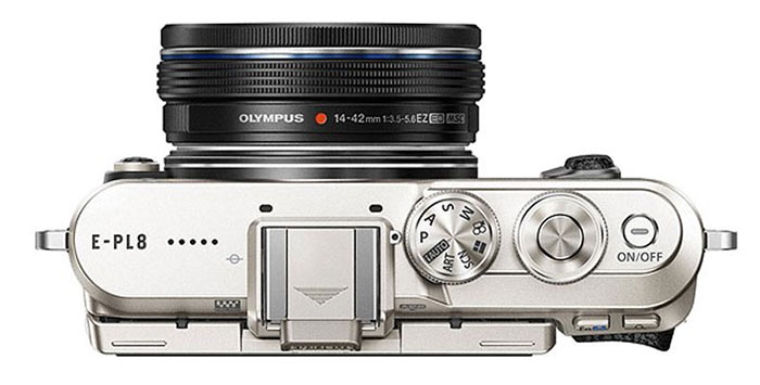 olympus-pen-epl-8-top
