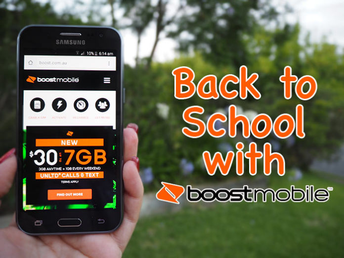 back to school with boost mobile