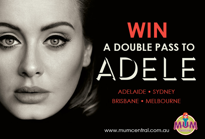 a5b929aefe5 WIN Tickets to Adele Live in Concert - Four Double Passes to be Won ...