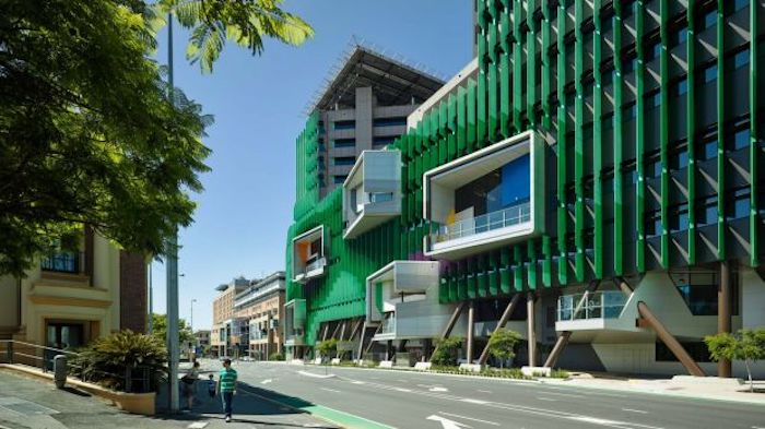 The Lady Cilento Children's Hospital. Photo: Christopher Frederick Jones via Brisbane Times.