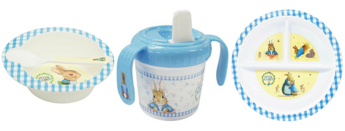 Big W Melamine Peter rabbit non chocolate easter ideas