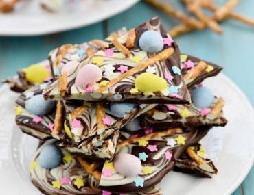 easter chocolate bark ideas