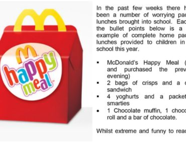 Happy meal: Should schools have opinion on kids lunchbox