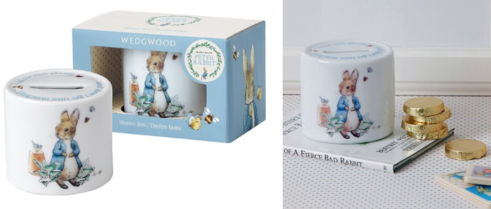 peter rabbit money box non chocolate easter ideas