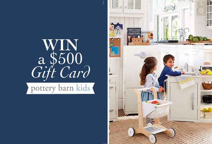 d4c680a43368 Discover Pottery Barn Kids and Win a  500 Shopping Spree