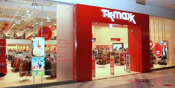 Image via TK Maxx Website.