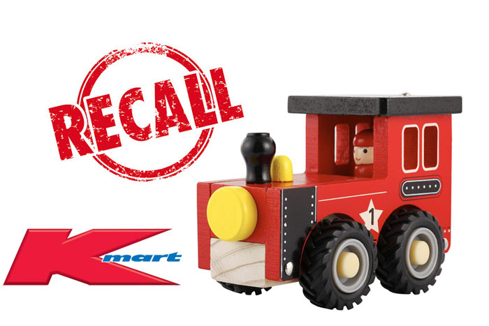 Kmart-Recall-Wooden Toy Train
