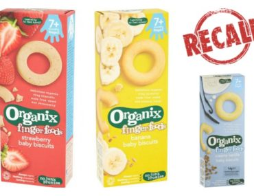 Organix Finger Foods Baby Biscuits