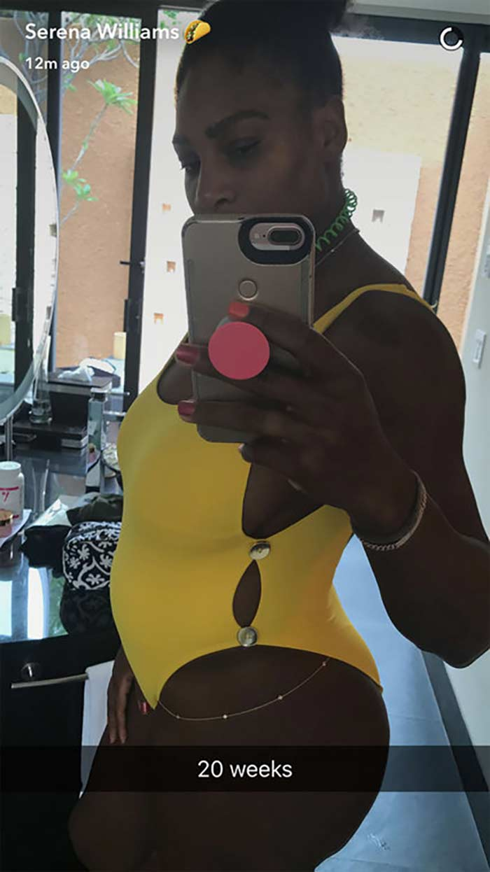 Serena Williams 20 Weeks