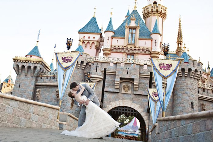 Disney Land Wedding