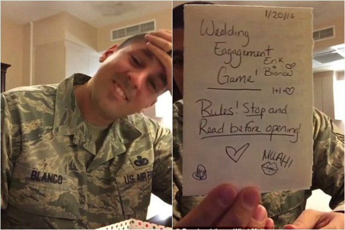 military pregnancy announcement